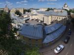 Весенне-летние виды с крыши Гоголевского бульвара