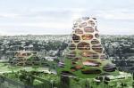 Устойчивая к землетрясениям солнечная Башня-Вулкан
