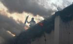 Очередное старинное здание сгорело в Москве