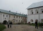 Архитектурные элементы четырех веков выявили на первом этапе реставрации Наместнического корпуса Соловецкого монастыря