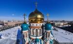 Фотографии Омска. Успенский собор [54м] (2010)