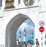 Ансамбль Казанского Кремля входит в число особо ценных памятников России