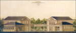 Текстильный павильон Всероссийской сельскохозяйственной и кустарно-промышленной выставки 1923 года.