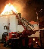 Башни в огне. Древний Псковский кремль серьезно пострадал от пожара