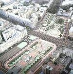 Пешеходов на Пушкинской будут ждать дорожки. Владимир Ресин сообщил о планах строителей на 2010 год