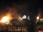 Святотатство на святотатстве. О  том, что стало причиной пожара на крепостных башнях Пскова, пока можно только догадываться