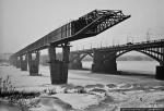 История строительства новосибирского метромоста (1980-1985)