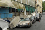 """Вибрации свалили цементные стены. Обрушились блоки строящегося отеля компании """"Интеко"""""""