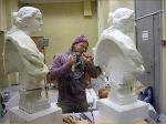 У «Примаверы» появился двойник. Копировать скульптуру помогает лазер