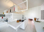 Экспериментальная квартира в Мадриде: без комнат, но и не cовсем open space