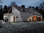 Современный шведский дом: на такой крыше Карлсон бы не удержался