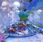 В Китае построен удивительный аквапарк