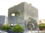 Здание-куб – просто, эффективно и эффектно!