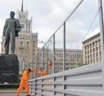 Триумфальную площадь поставили на ремонт