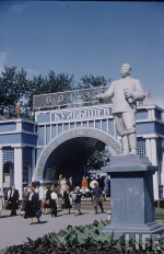 Куйбышев. Старый речной вокзал: деревянный сталинский ампир