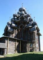 Преображенская Церковь. Реставрационный сезон на острове Кижи - 2006