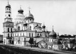 Специалисты ЦНРПМ рассчитали высоту будущей Колокольни Ново-Иерусалимского монастыря по архивной фотографии