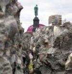 Страстная площадь. У памятника Пушкину разгорелся новый конфликт москвичей со строителями