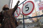 Михалкову мешают шагать по Москве