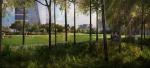 Парк между горами и равнинами