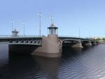 Мост остался в охраняемой зоне. Строительство Ново-Адмиралтейского моста начнется в следующем году