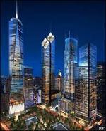Проекты трех небоскребов ВТЦ