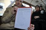 В Петербурге прошла акция в защиту трамвайного парка № 2