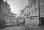 Из музейных фотоколлекций. Ворота на Староваганьковском. 1934 год.