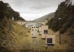 Норвежский город рад домам на рельсах