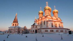 Московские реставраторы восстановили фрески собора Иверского монастыря
