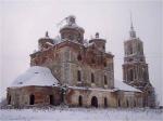 Богоявленская церковь в селе Еськи Тверской обл.