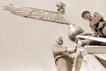 Власьевский подъём. Восстановление Власьевской башни венчает труд возрождения Псковского Кремля после пожара