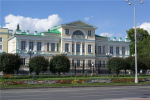 Здание горной аптеки (музей камнерезного искусства) ремонтируется в Екатеринбурге