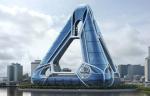 Архитекторы предложили Новому Орлеану плавающую пирамиду-город