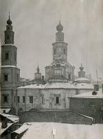 Из музейных фотоколлекций. Крестовоздвиженский монастырь перед разрушением. 1934 год.