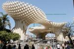 В Севилье построено крупнейшее сооружение из дерева