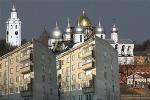 Хрущевки с видом на кремль