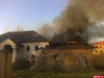 Памятник архитектуры XVII века пострадал от пожара в Пскове