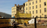 Фасад ушел в историю. Стена доходного дома на Якиманке не вынесла реконструкции