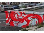 Парламент лишают окраски. Общественник требует стереть граффити у заксобрания