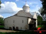 В Новгороде вандалы изрисовали церковь XVI века
