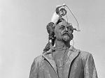Гагарин на Лубянке. Памятник первому космонавту предложили установить на пустующем пьедестале Железного Феликса
