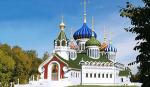 В Переделкино появится храм с фарфоровыми куполами