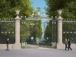 Ворота Летнего сада вернутся из 1784 года. Завершаются работы по восстановлению главного входа Невской ограды