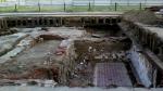 На Триумфальной археологи откопали общественный туалет