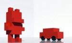 В экстрим-парке Перми установят трехметрового красного мишку и машинки-скамейки
