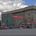 Сталинский небоскреб. В центре Новосибирска ремонтируют здание с самым богатым архитектурным прошлым