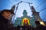 Мечеть упала к трауру