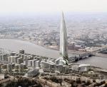 «Кукуруза» меняет профиль. Газпром отказался от продажи участка на Охтинском мысу, где планировалось строительство 400-метровой башни
