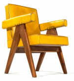 Ле Корбюзье и Пьер Жаннере в креслах Чандигарха
